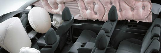 Fergusons Toyota Tarago Interior with SRS Airbags