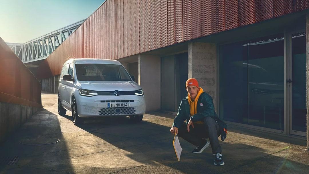 VW Caddy Landing early H2 2021