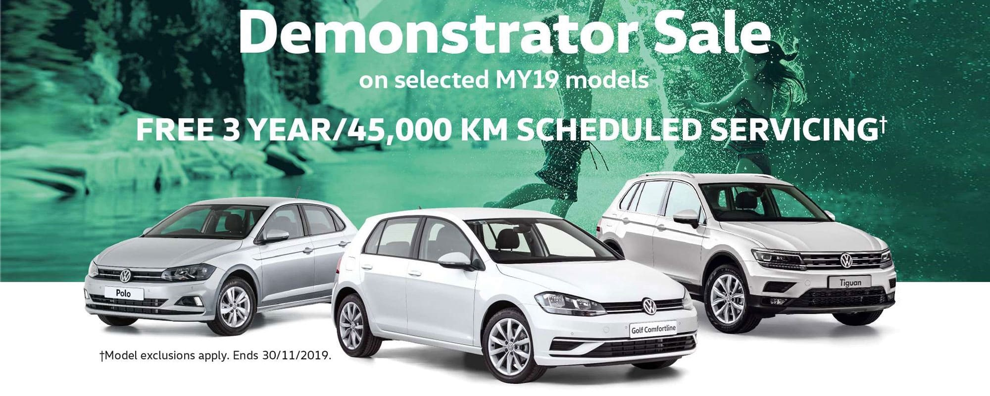 Demonstrator Sale at Dwyers Volkswagen