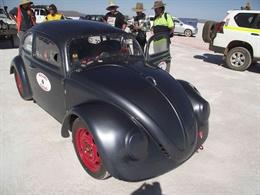 Black Volkswagen Beetle
