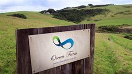 Ocean Farm sign