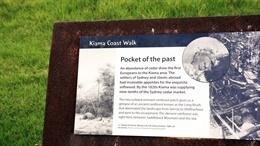 Kiama coast walk sign