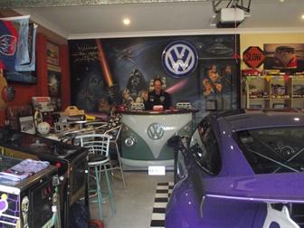 Volkswagen enthusiast garage