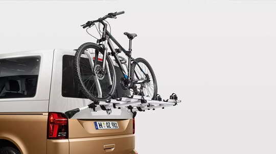 Bicycle tailgate carrier