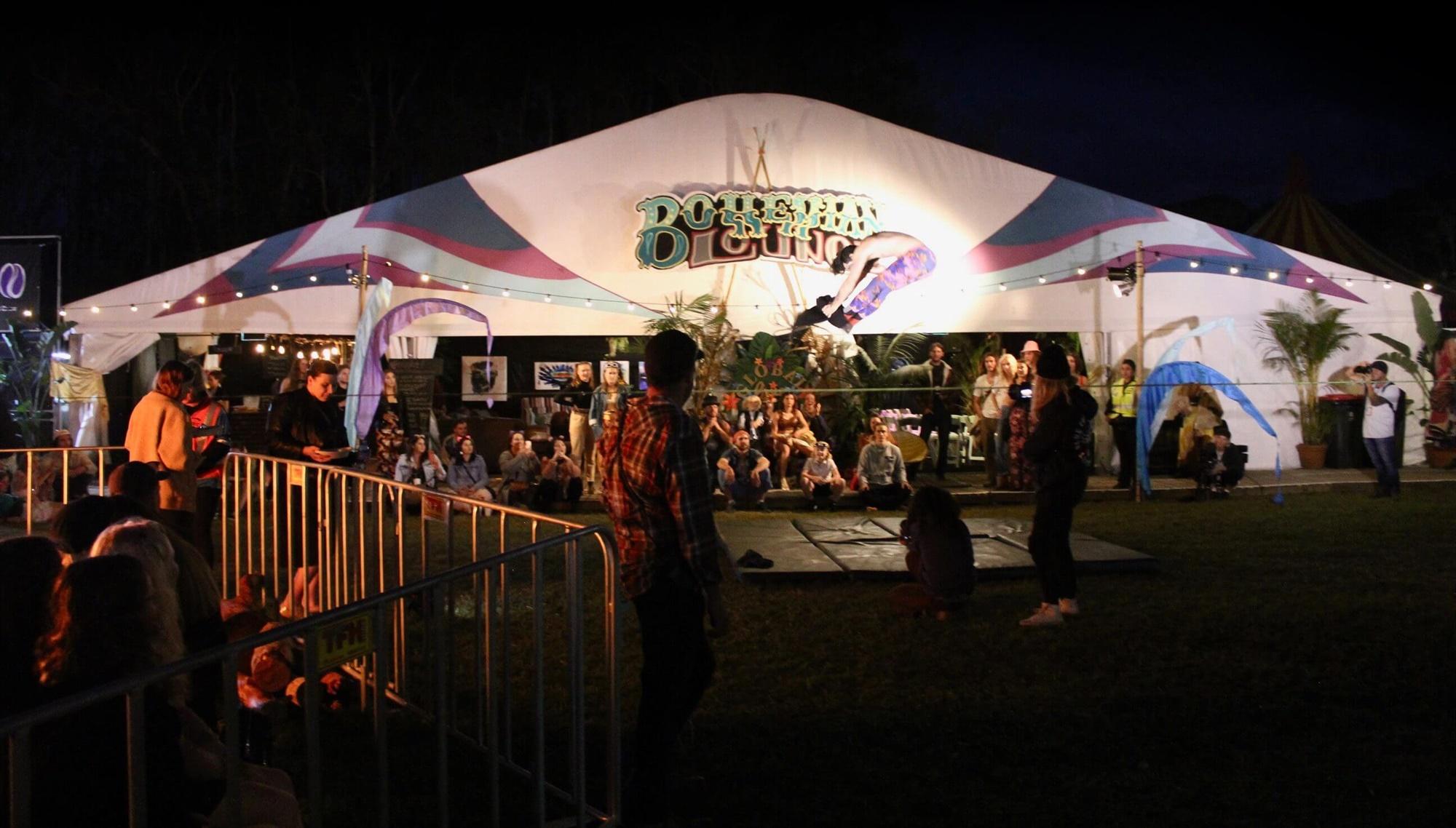 Tent at Splendour