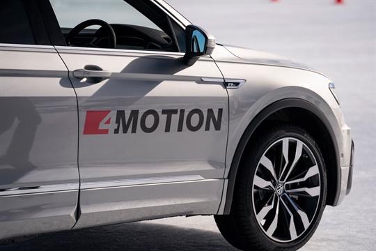 Volkswagen 4MOTION range