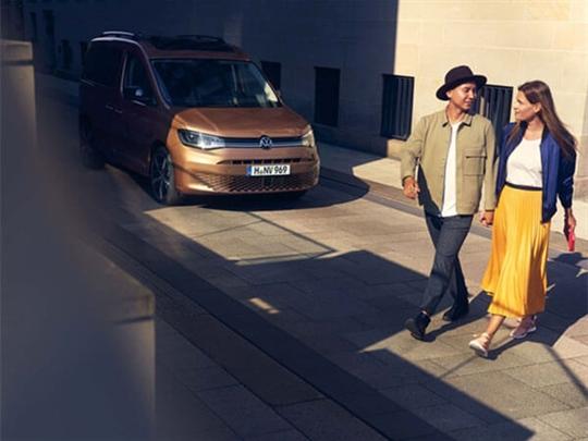 Volkswagen Caddy Exterior