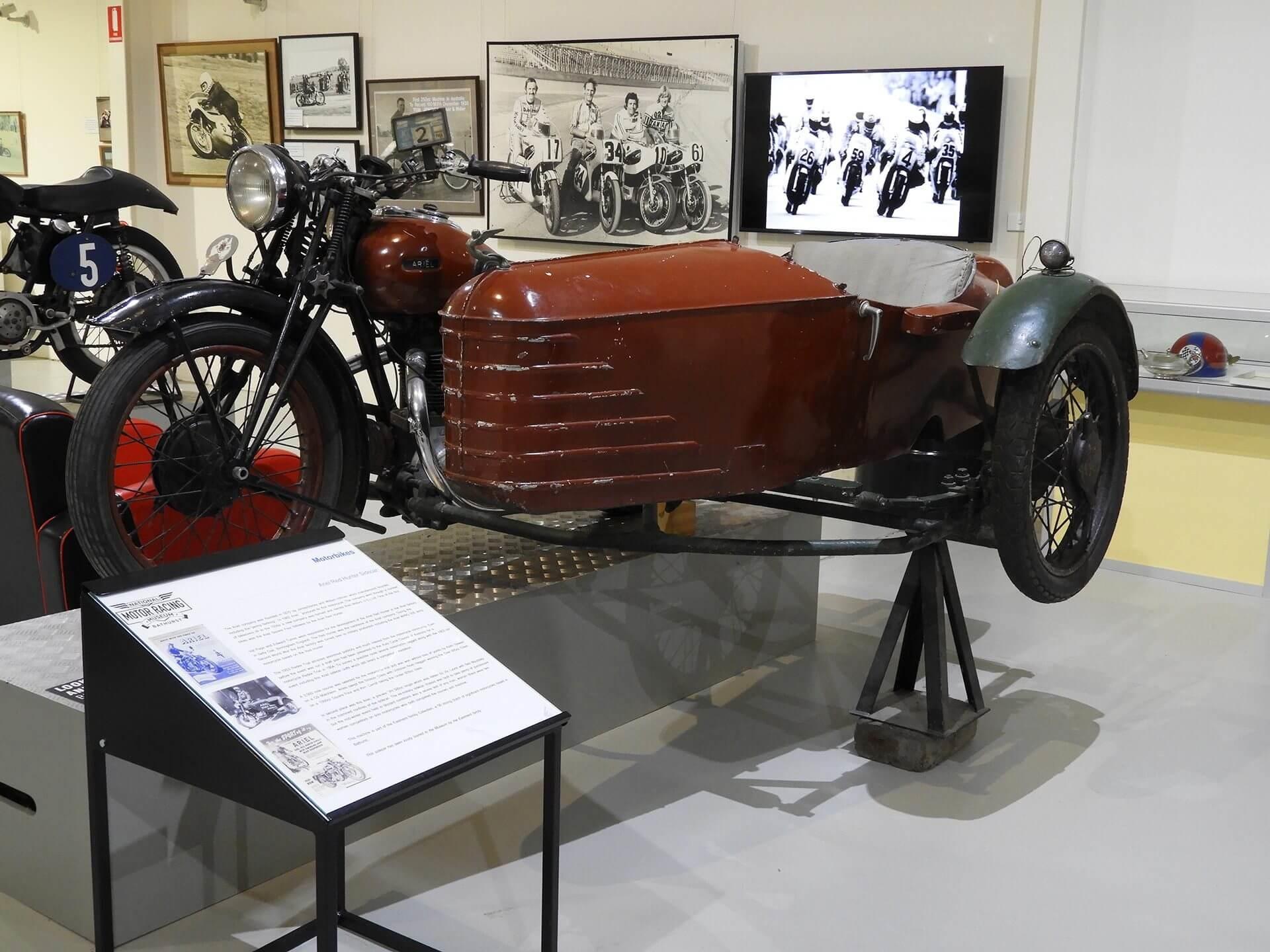 Vehicles at Bathurst National Motor Racing Museum